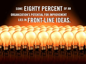The Power In Front-Line Ideas